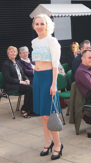 digital print, laminate, clasp frame, bag, clutch bag, cactus, holidays, Lanzarote, cotton drill, beaded, fashion show, HND, Glasgow Clyde College, Scotland, Glasgow School of Art, Armadillo, crop top, culottes, graded unit,