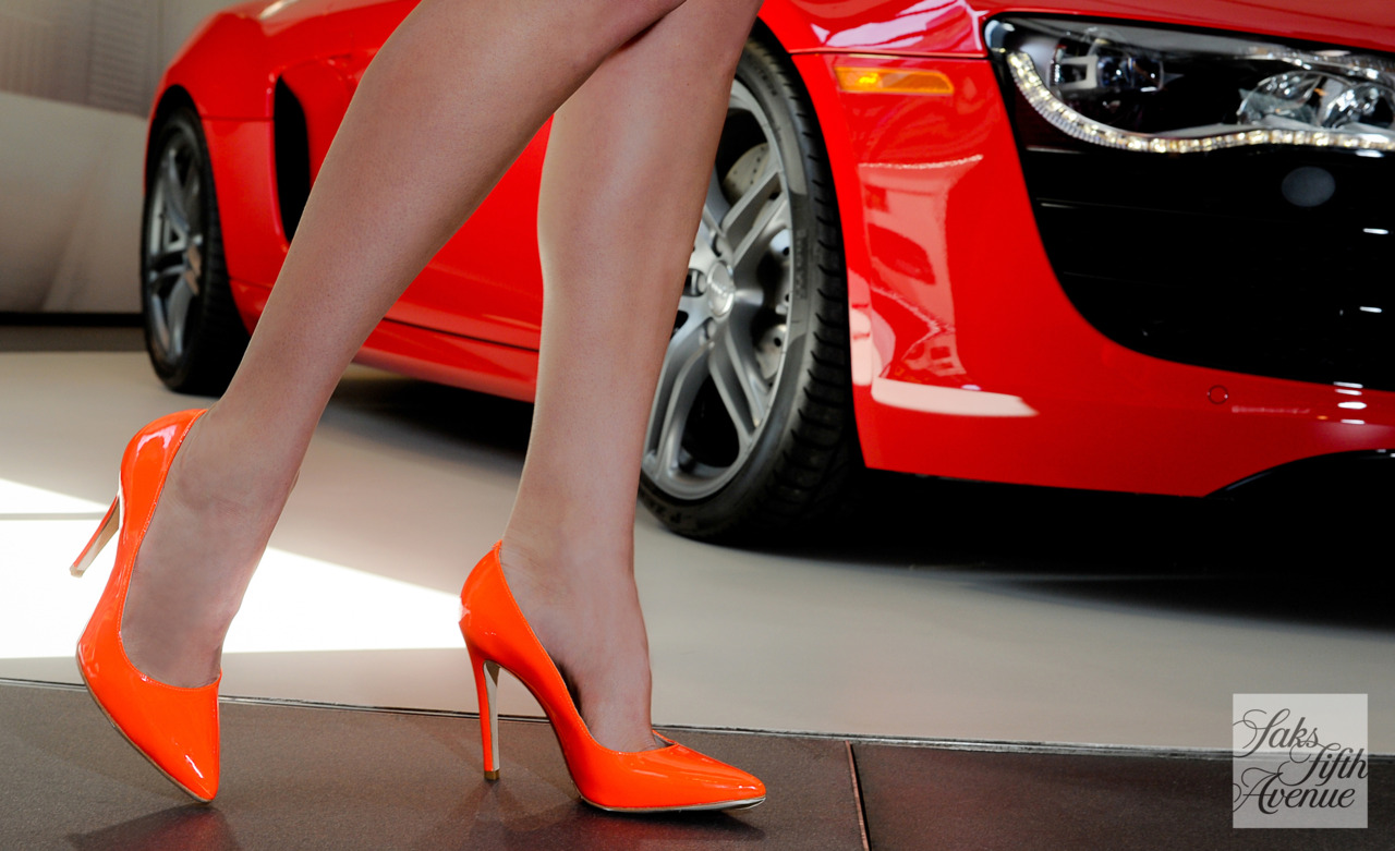 Alice Olivia Neon Orange Pumps Passion For Designer Shoes