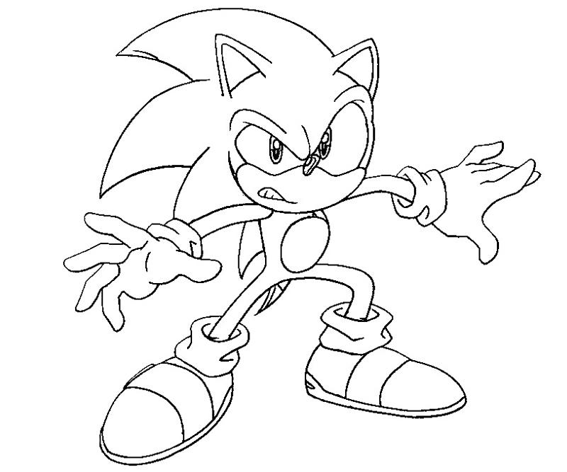 Sonic 1 Coloring