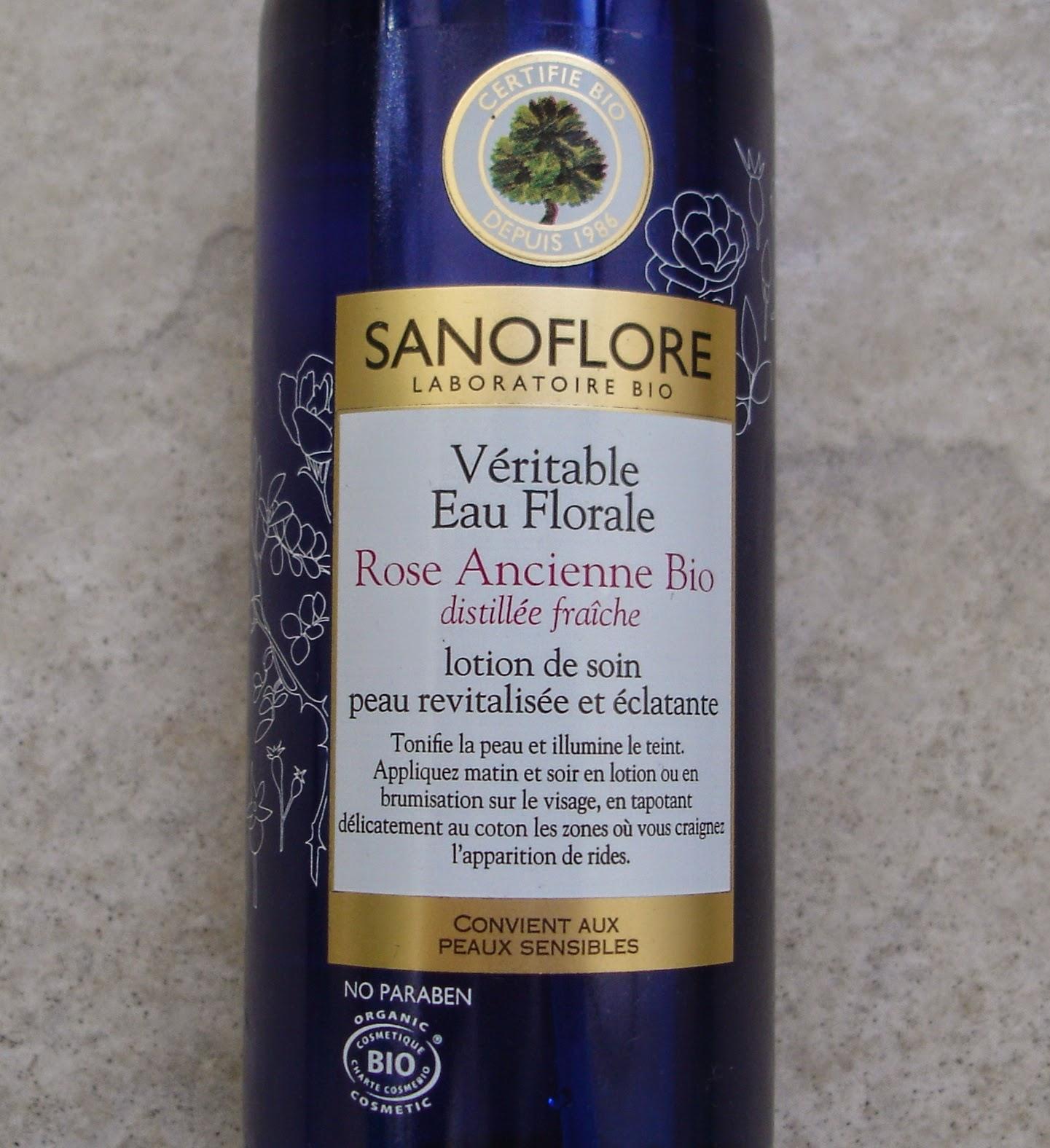 Sanoflore Eau florale de Rose Ancienne