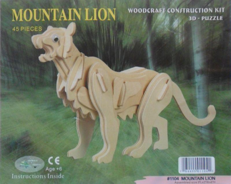 3d lion puzzle instructions