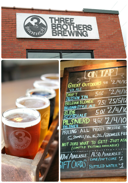 If you happen to be a lover of local craft beers, then a stop at Three Brothers Brewery is definitely in order when visiting Harrisonburg. #BlueRidgeBucket #Trekarooing