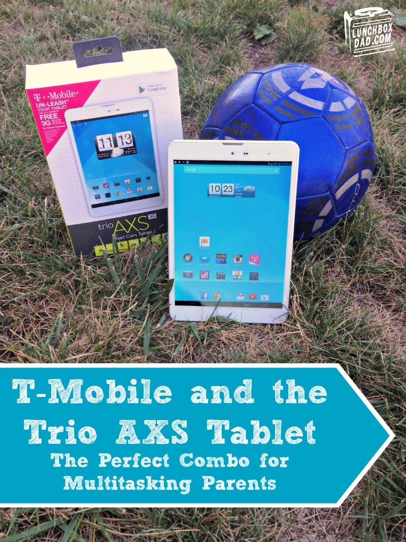 Trio AXS T-Mobile 4g Data Free For Life #TabletTrio #CollectiveBias #Shop