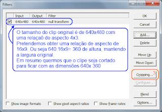 VirtualDub -  corte de video - passo 4