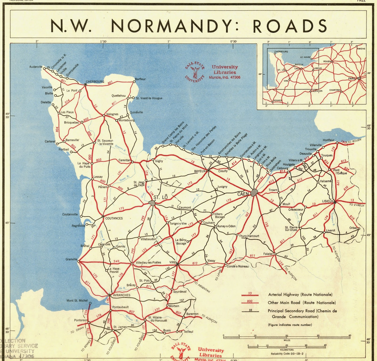 GIS Research and Map Collection DDay Normandy Invasion Maps