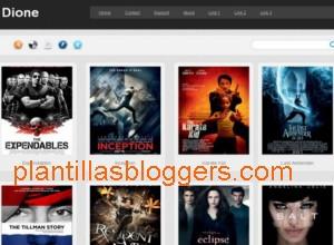 plantilla blogger Dione