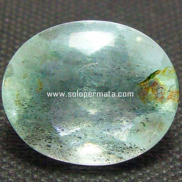 Batu Permata Greenish Blue Beryl Aquamarine - 08B04