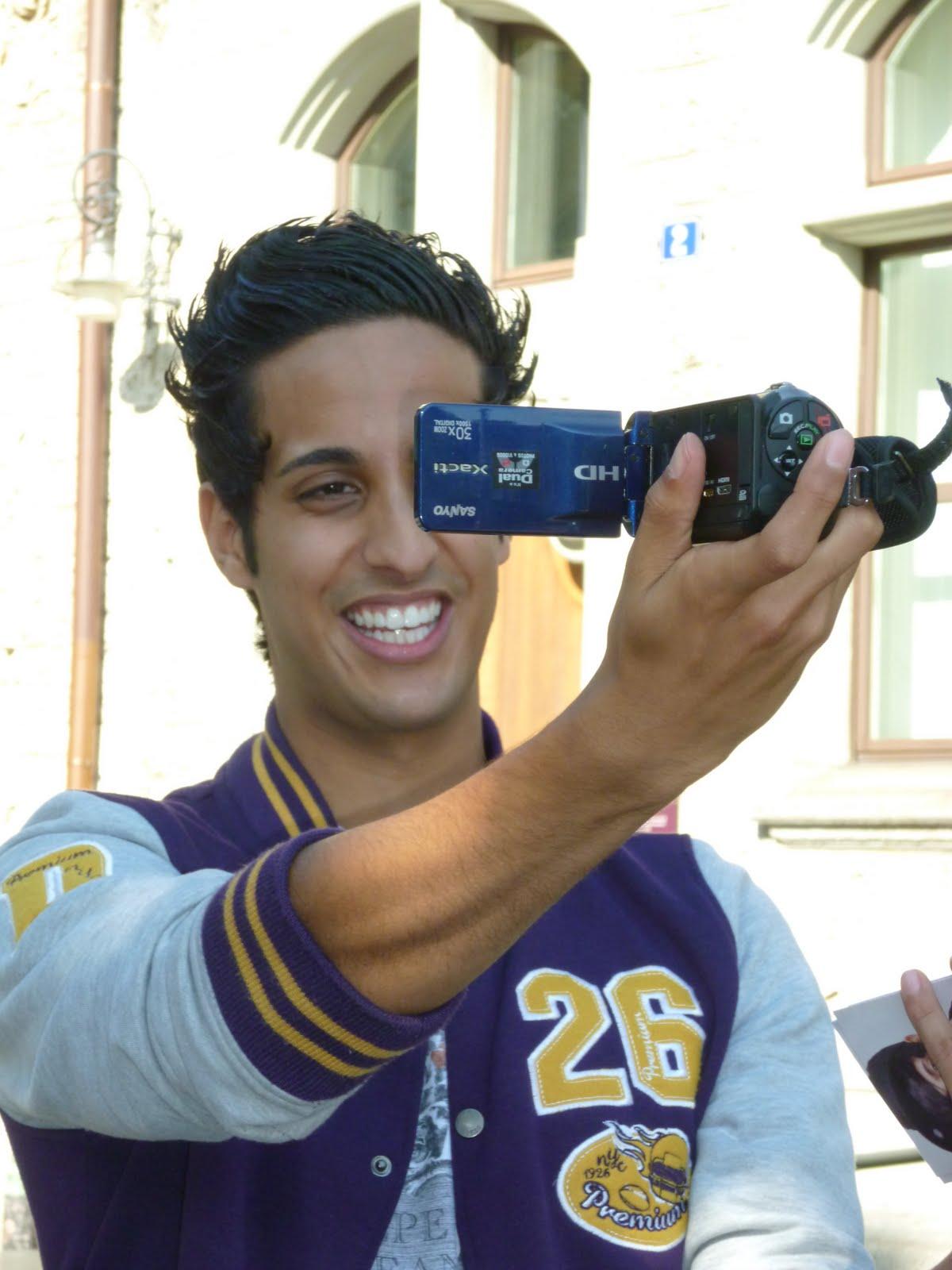 Und natürlich sami 3 mit meiner videokamera