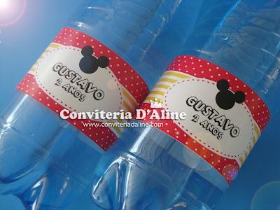 rótulos personalizados Mickey