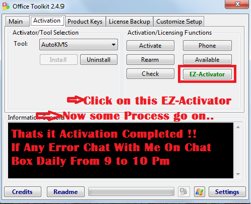 Windows 7 activation using microsoft toolkit archives - Office 2013 toolkit and ez activator ...