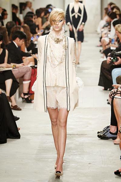 runway look: Chanel 2014 resort collection