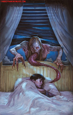 Guillermo Del Toro The Strain Vampire Parasite Attack