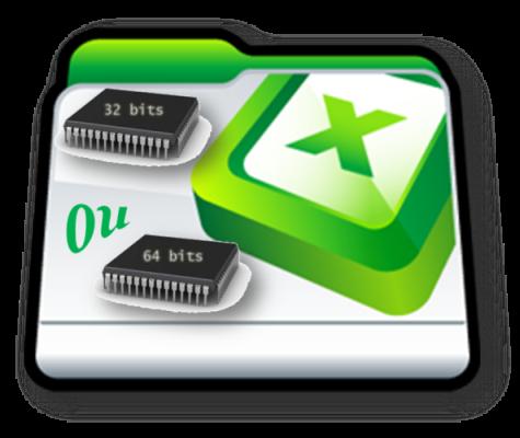 Excel versão 32 Bits ou 64 Bits