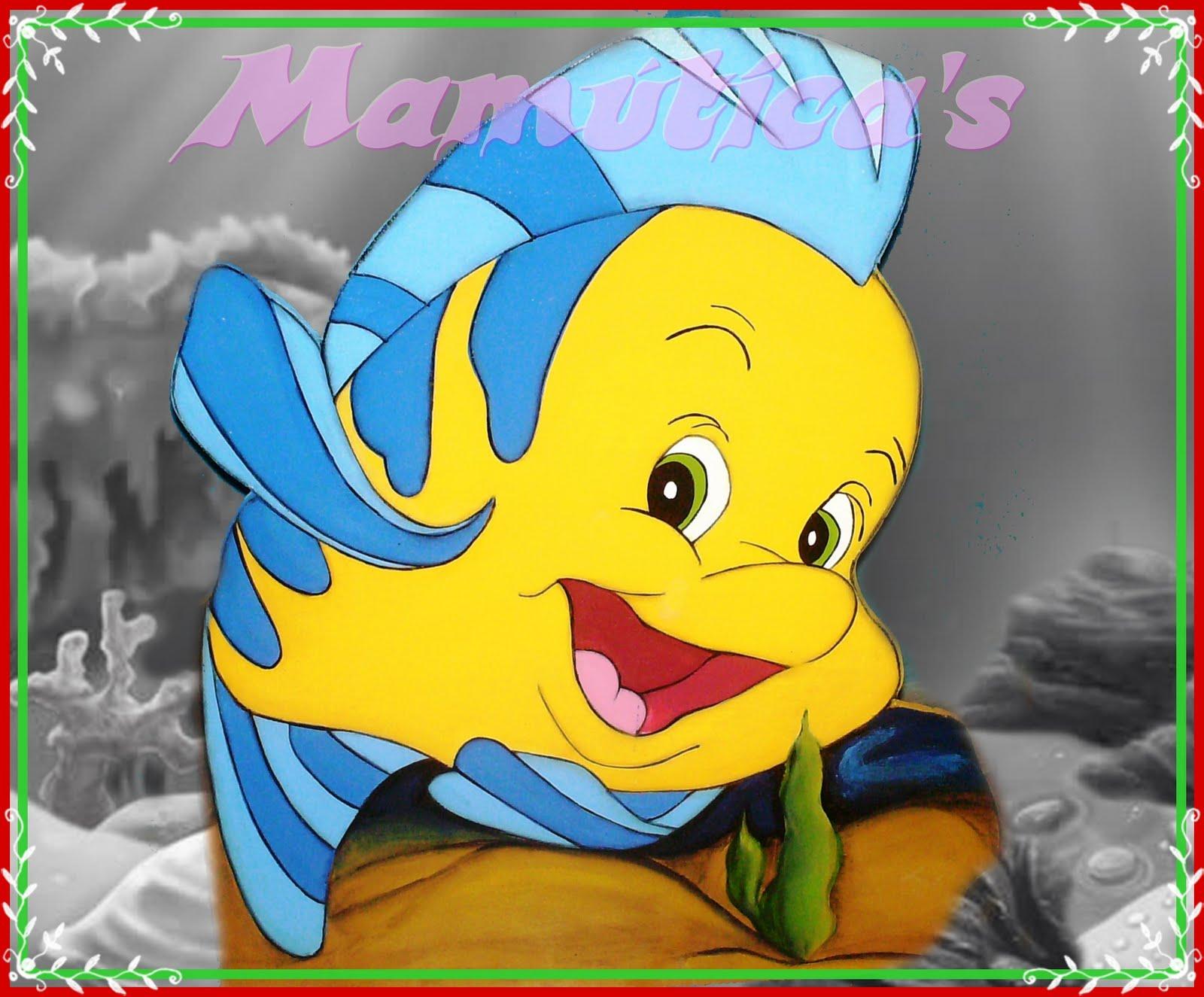 Flounder Con Su Carita Amistosa