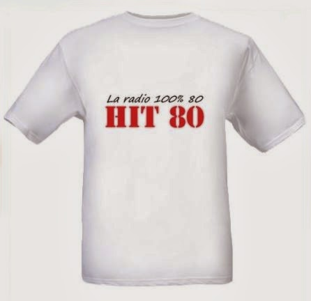 T Shirt Radio Hit 80