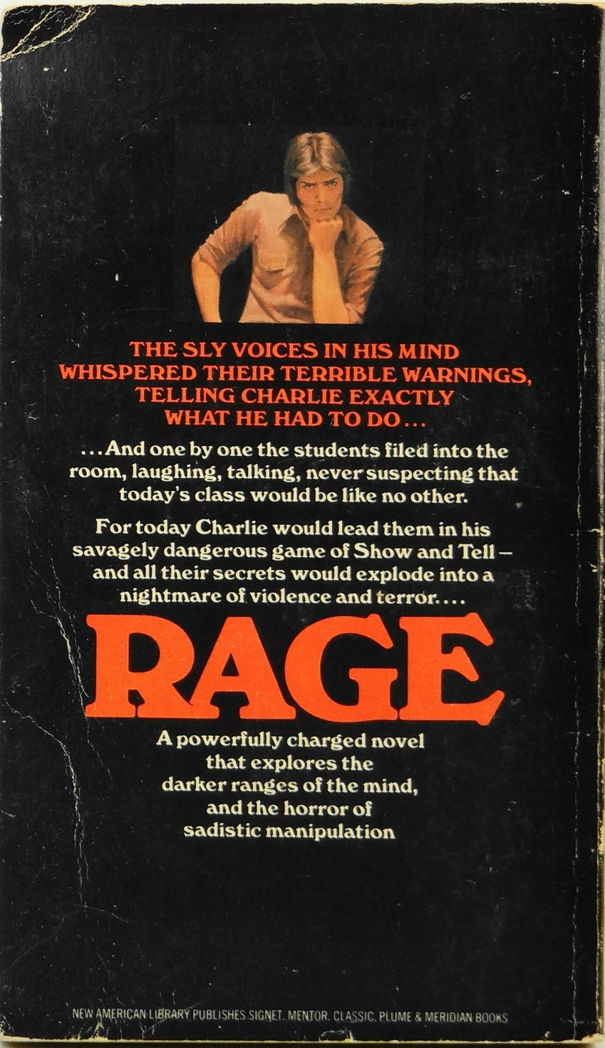 This Omnibus Entitled The Bachman Books (nov 1986) Was A Popular Read Among  My Horrorfictionreading Pals And Me, But I Lost My Copy Years Ago,