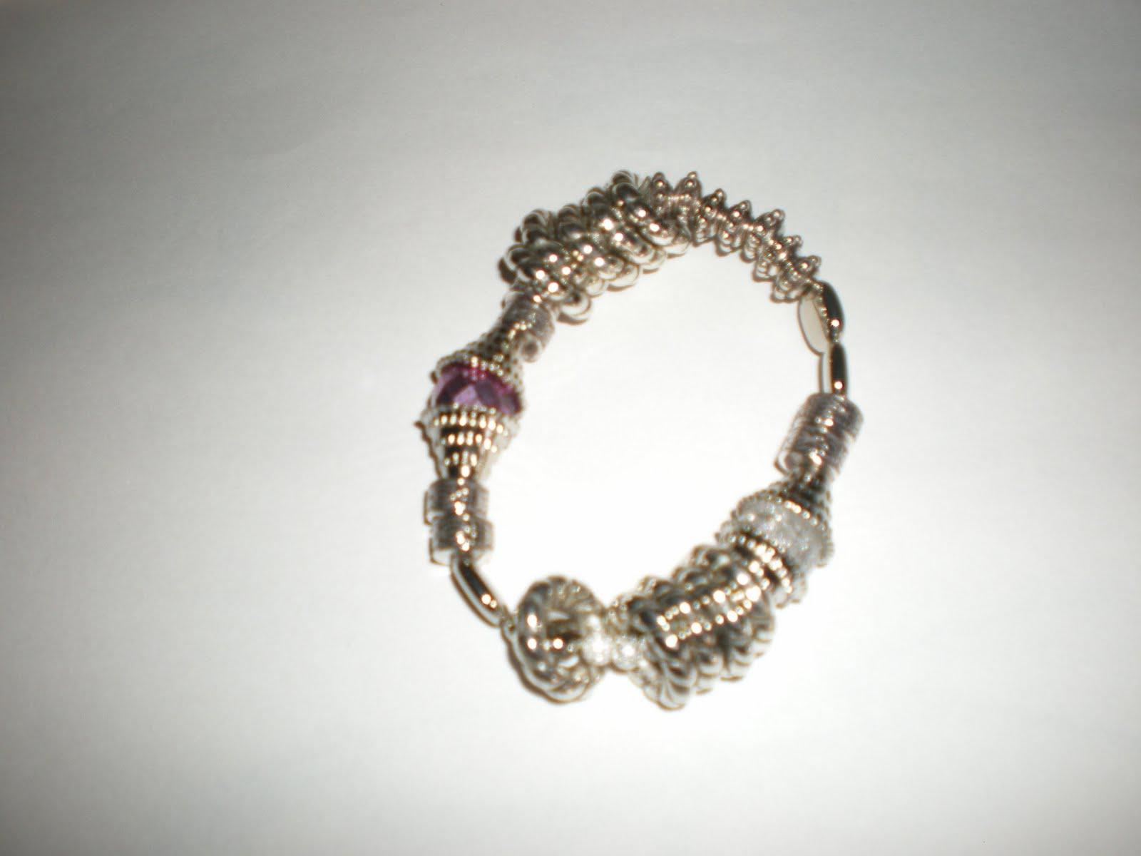 I Bijoux Di Maribel Braccialetti Con Elastico Perle Colorate E