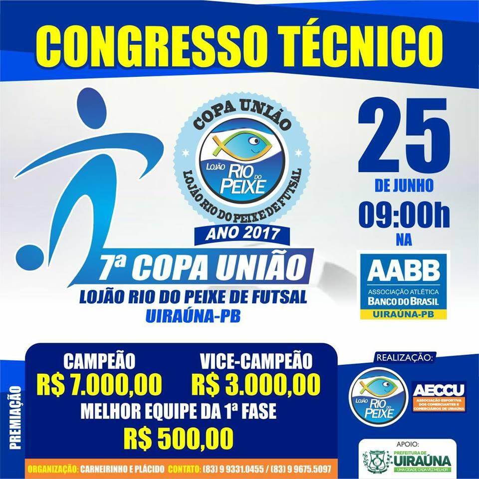 7° Copa União Lojão Rio do Peixe