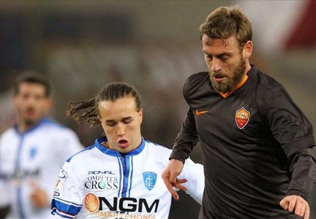 AS Roma Sukses Atasi Empoli 2-1 Lewat Extra Time