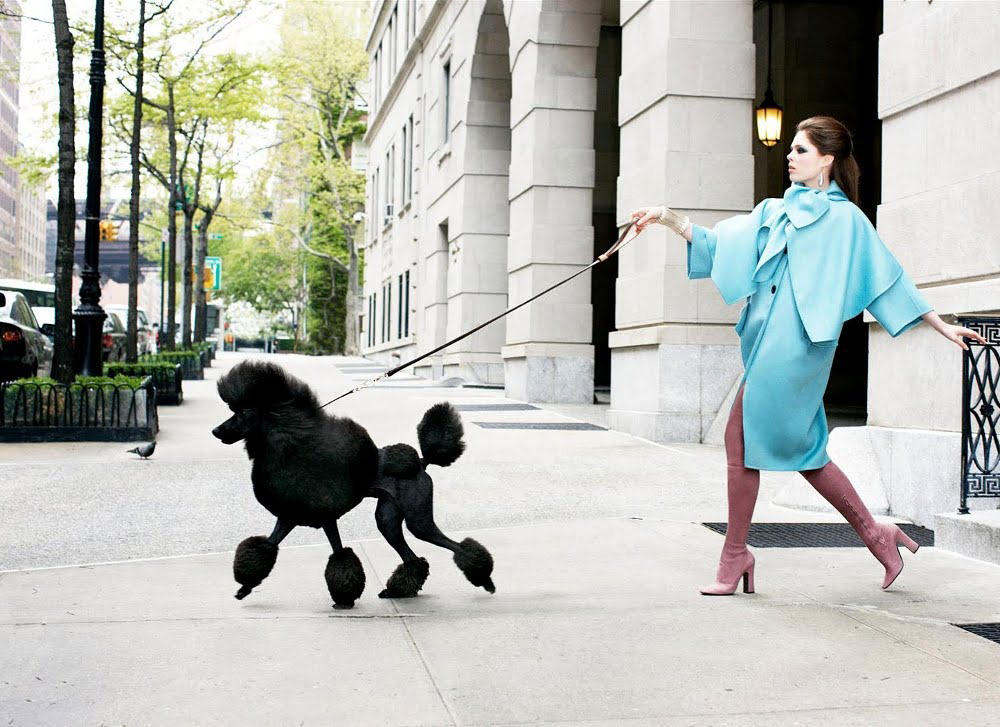 Coco Rocha in Vogue Nippon August 2008 (photography: Arthur Elgort)