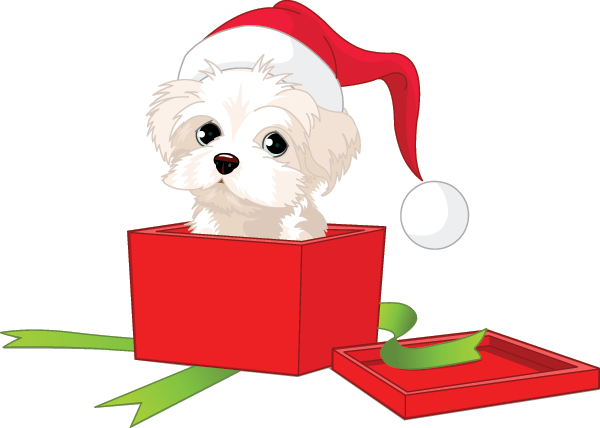 Puppy for Christmas icon