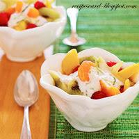 Mayonnaise Fruit Salad