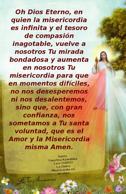oracion para pedir aumento de misericordia y asi ser mas misericordioso