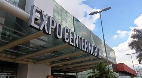 Entrada do Expo Center Norte Em São Paulo