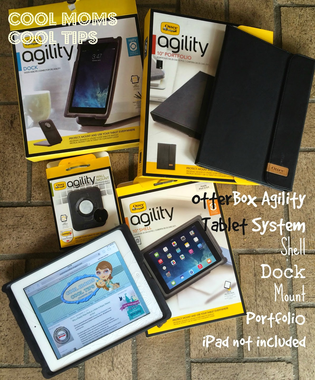 cool moms cool tips otterbox agility tablet sytem pieces