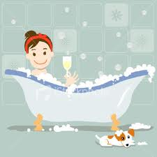 Writing...and other life lessons : Calgon, take me away...