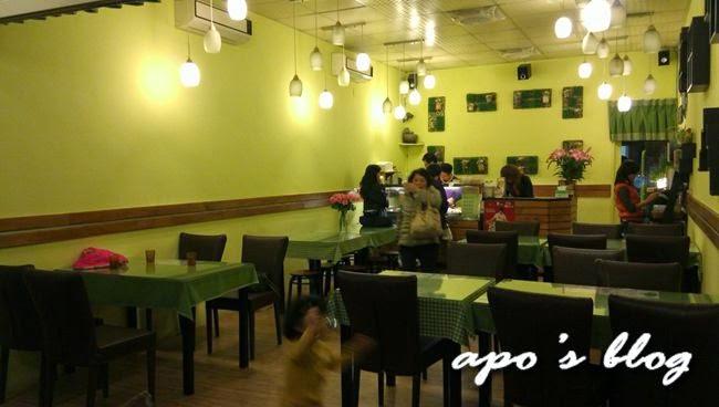 草屯素食-頂味香餐廳用餐空間