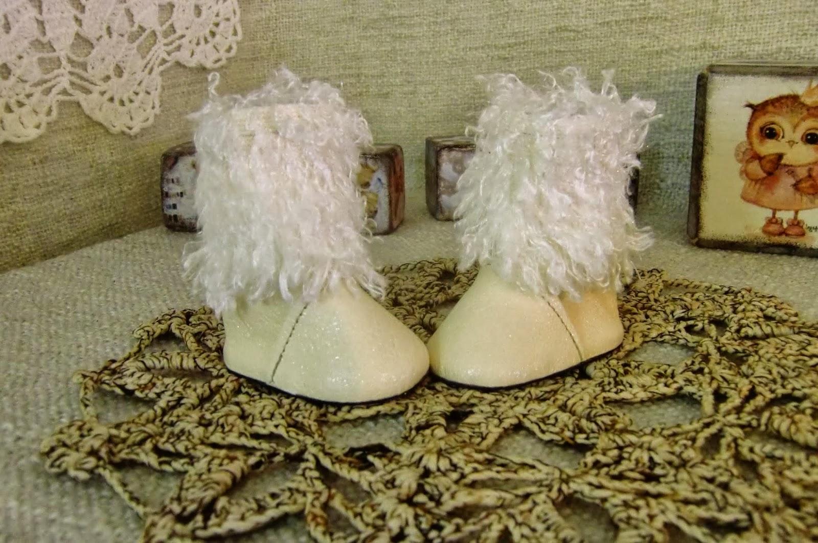 Мастерим сапожки-ботинки для куклы Ярмарка Мастеров 33