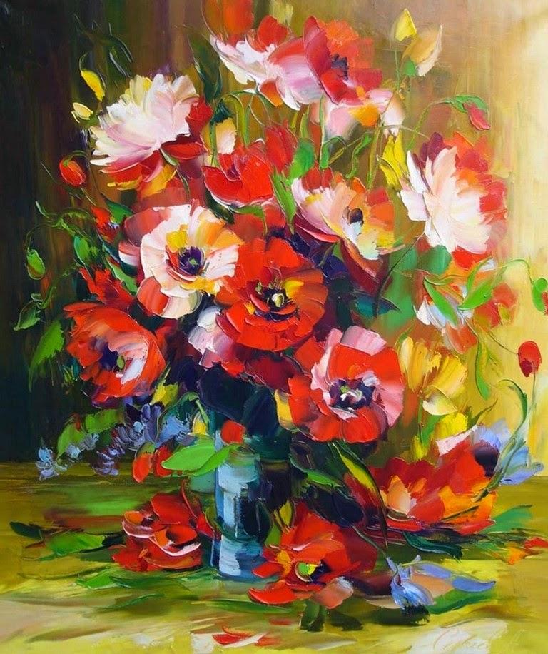 cuadros-de-flores-pintura-impresionista