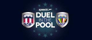 """NATACIÓN-Estados Unidos gana un ajustado """"Duel in the Pool"""" 2013"""