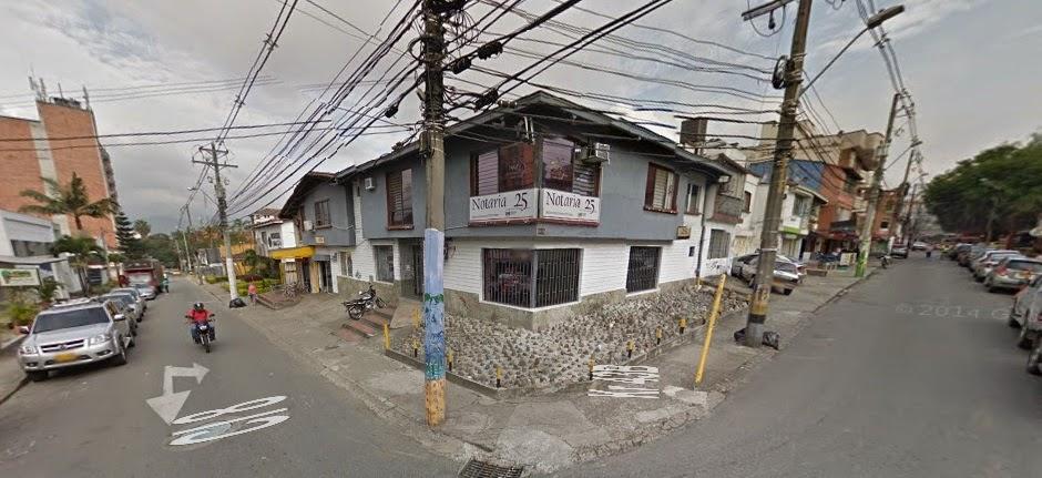 fachada Notaria 25 Medellin