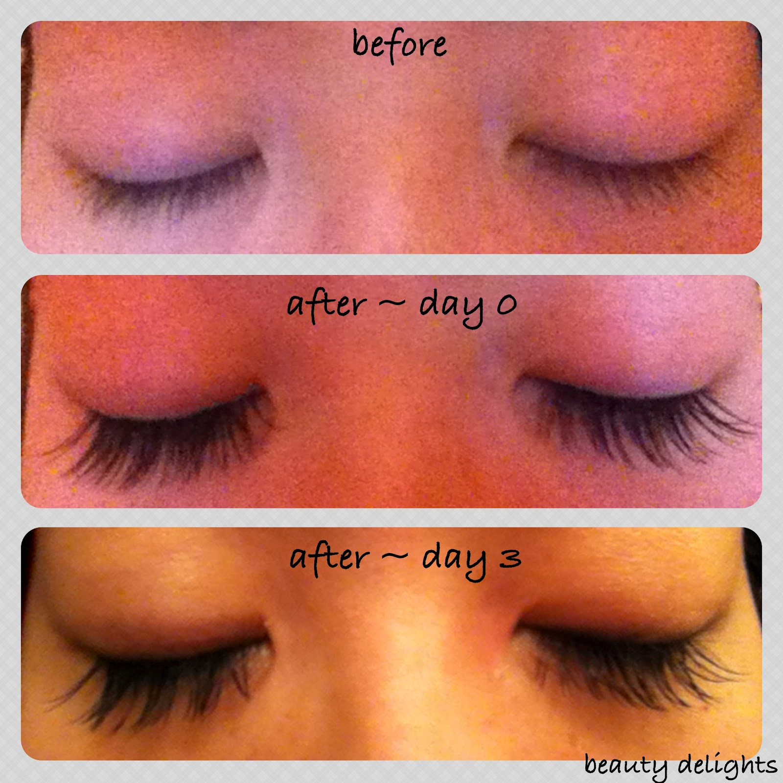 beauty delights: REVIEW: Mink Eyelash Extensions - Week 1