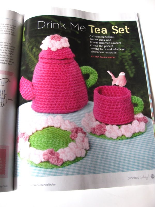 Crochet Magazines List : and i ve crocheted a tea set before shown here