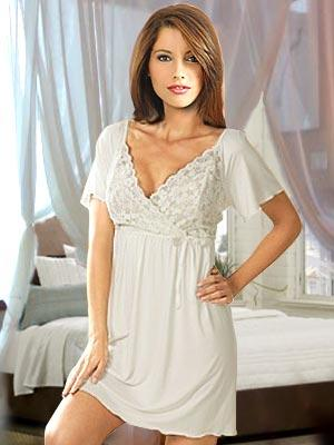 Stunning New Plus Size Sleep Shirts For WomenRomantic Sleepwear For Women