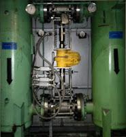 Kinetrol actuator on lube skid