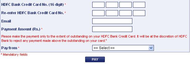 Hdfc forex card online registration