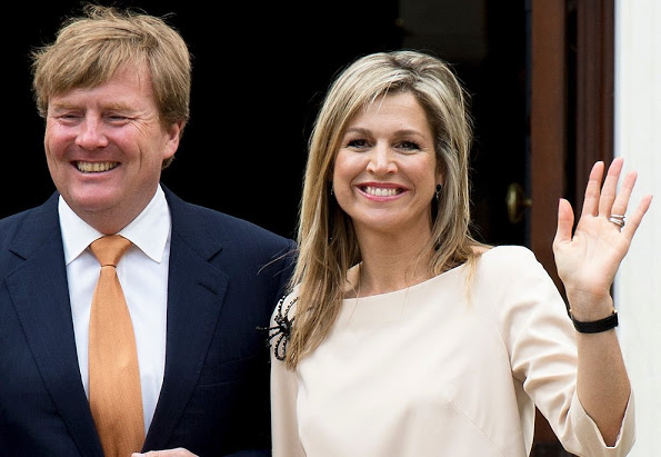 Queen Maxima And King Willem-Alexander Visit The United States