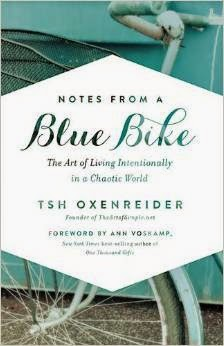 Notes from a Blue Bike by Tsh Oxenreider