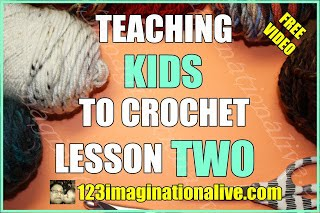 Teaching Kids to Crochet