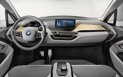BMW electric car BMW i3