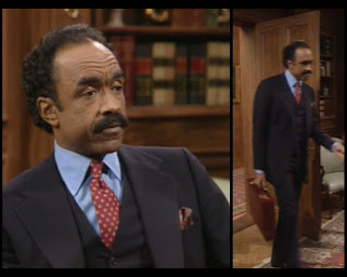 Cosby Show Huxtable fashion blog 80s sitcom Ron Foster Mr Hanson