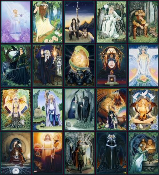 Dreams of Gaia Tarot Michele Lee Ravynne Phelan Gaian Dream ไพ่ยิปซี ไกอา ไกอัน ทาโรต์ ไพ่ทาโร่ ทาโรท์ ไพ่ทาโรต์