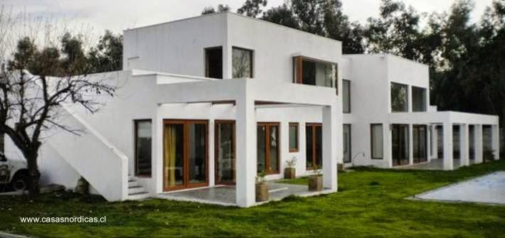 Arquitectura de casas modelos de casas prefabricadas en - Casas prefabricadas nordicas ...