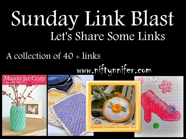 Sunday Link Blast~ Let's Share Some Links http://www.niftynnifer.com/2015/04/sunday-link-blast-lets-share-some-links.html