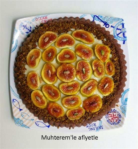 fig tart cake