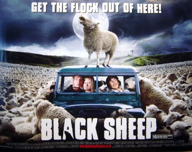 "Have You Missed The 2007 New Zealand Treasure ""Black Sheep""? It's So Baaaad, It's Good!"